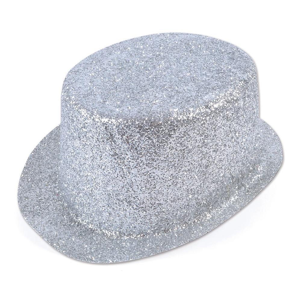 Glittrande Höghatt Silver - One size