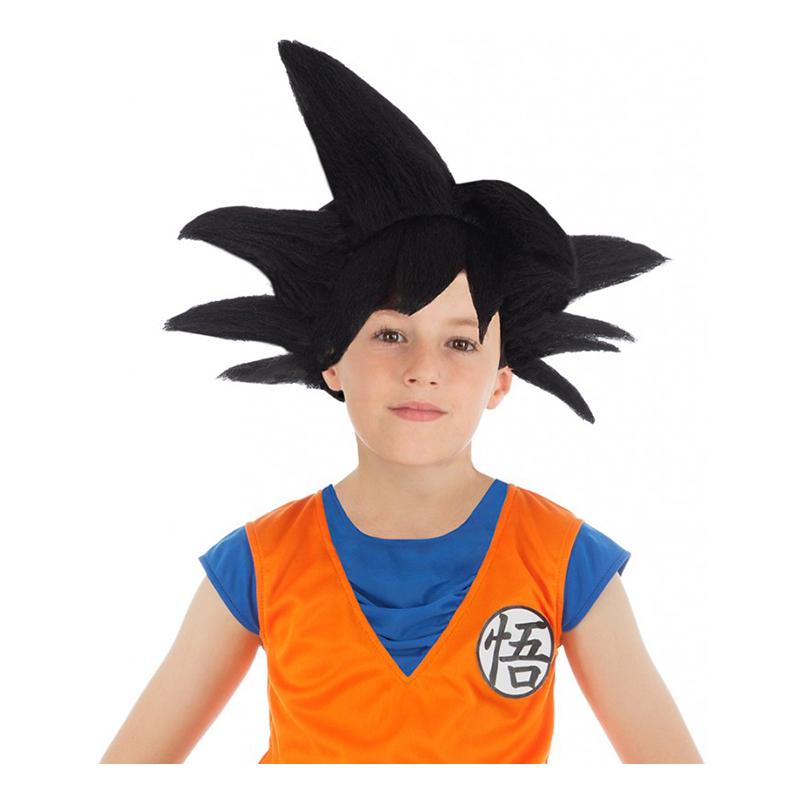Goku Saiyan Barnperuk - One size
