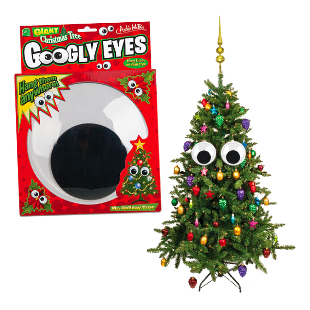 Googly Eyes för Julgran