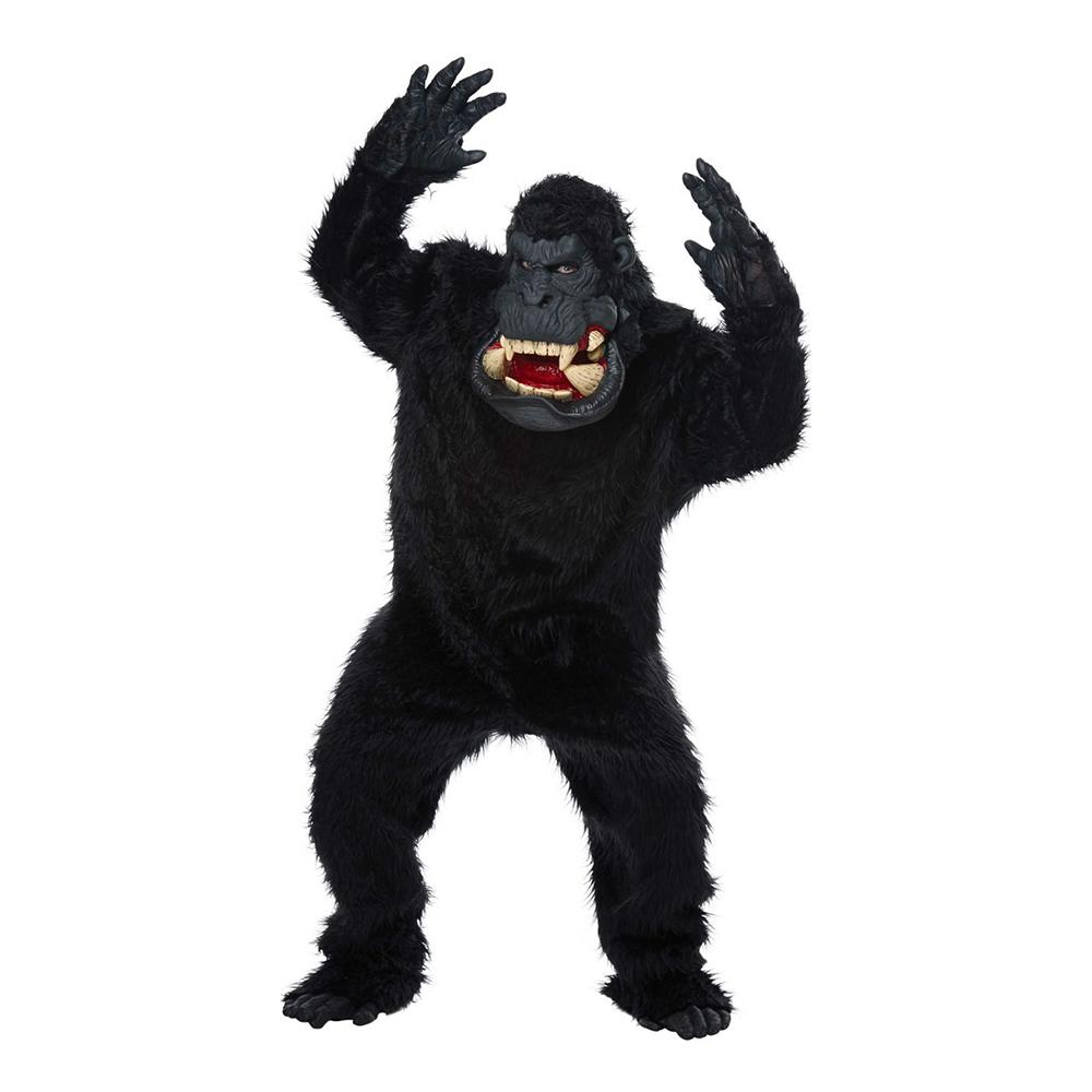 Gorilla med Stor Mun Maskeraddräkt - One size