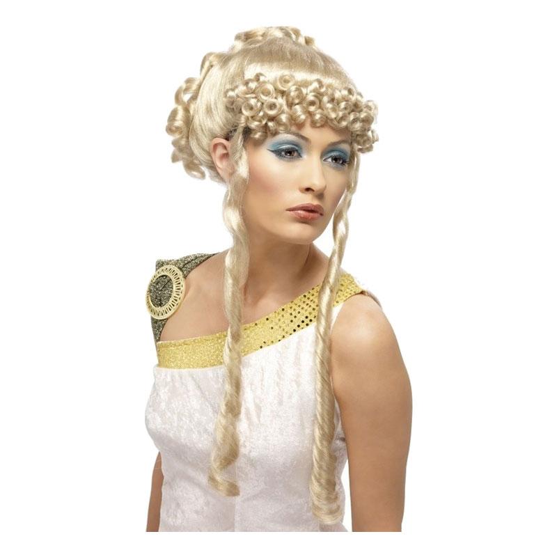 Grekisk Gudinna Blond Peruk - One size