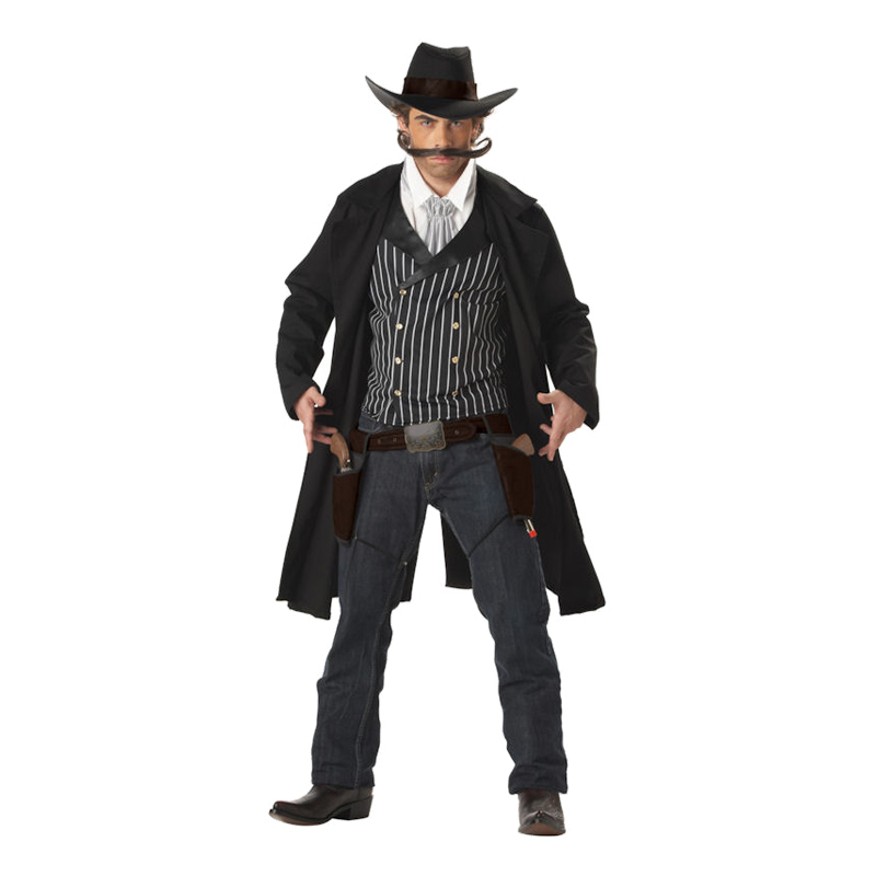 Gun Fighter Cowboy Maskeraddräkt - Medium