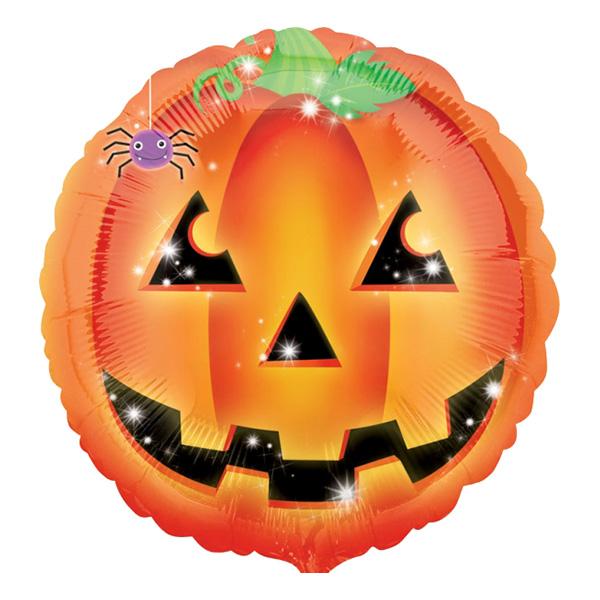 Halloween Pumpa Folieballong