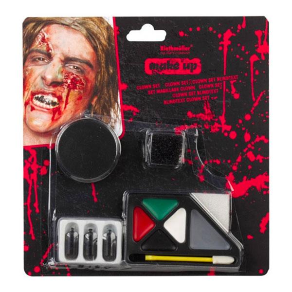 Halloween Sminkset Horror Zombie