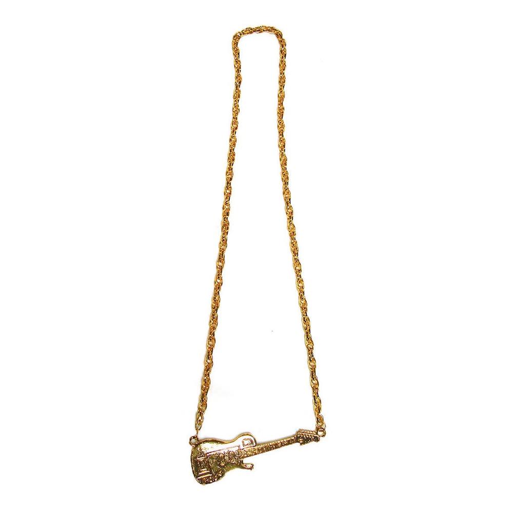 Halsband Gitarr Guld