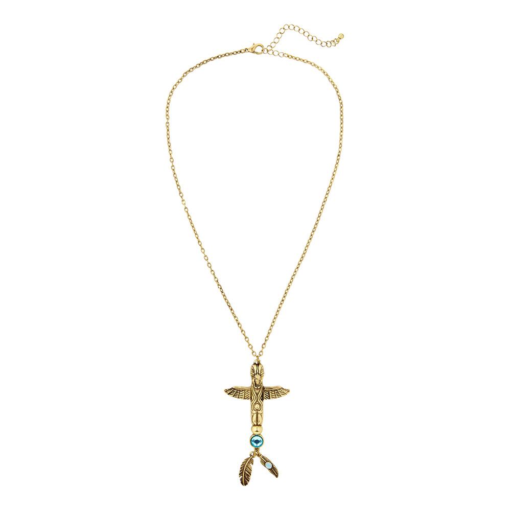 Halsband med Totemsmycke