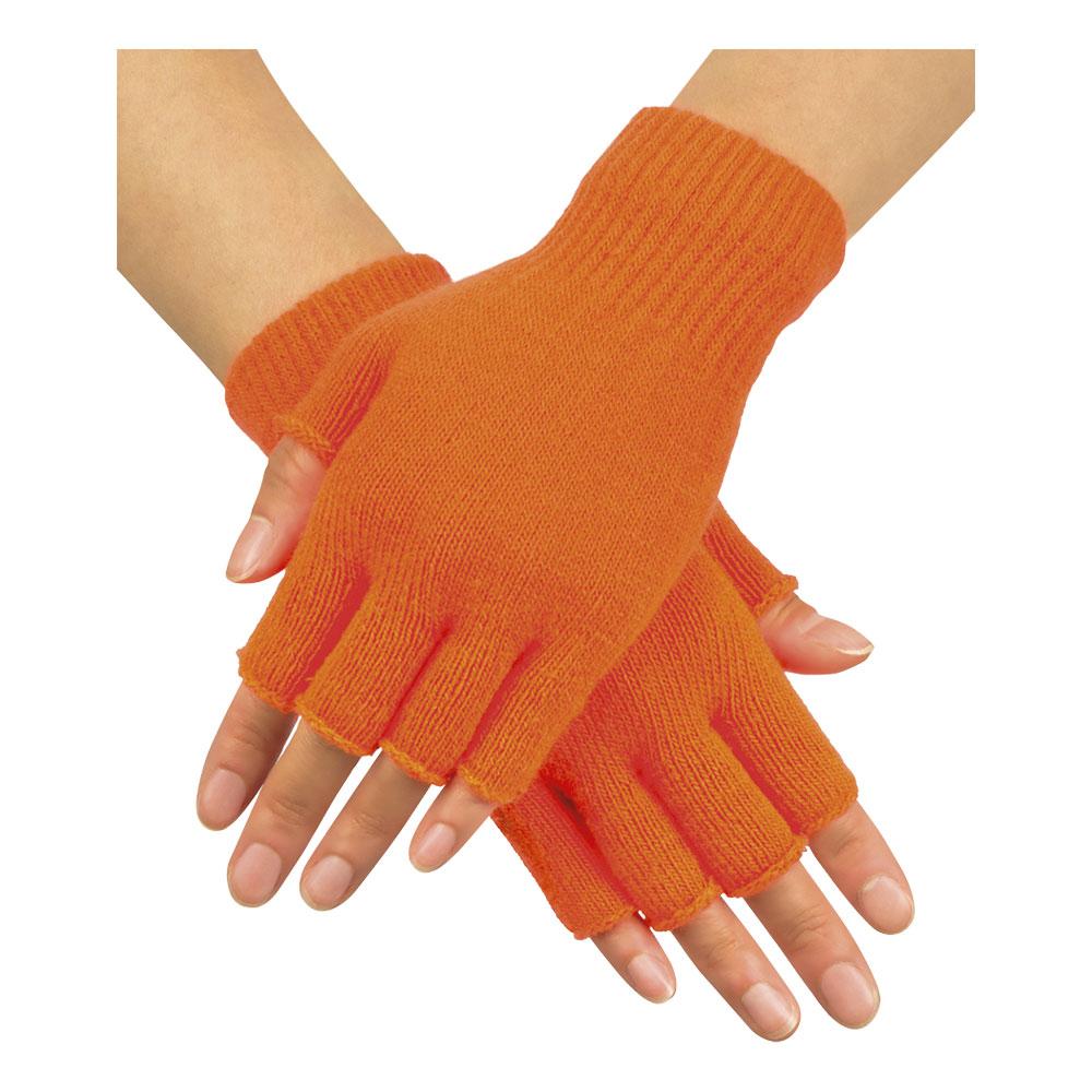 Handskar Fingerlösa Neonorangea - One size