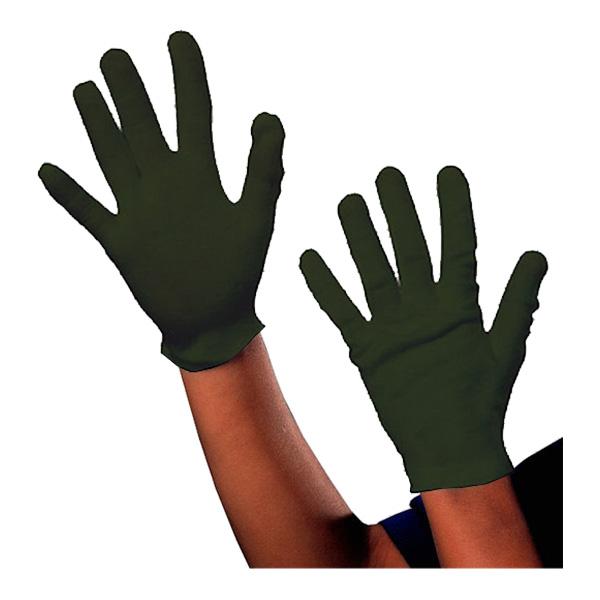 Svarta Handskar Korta för Barn - One size