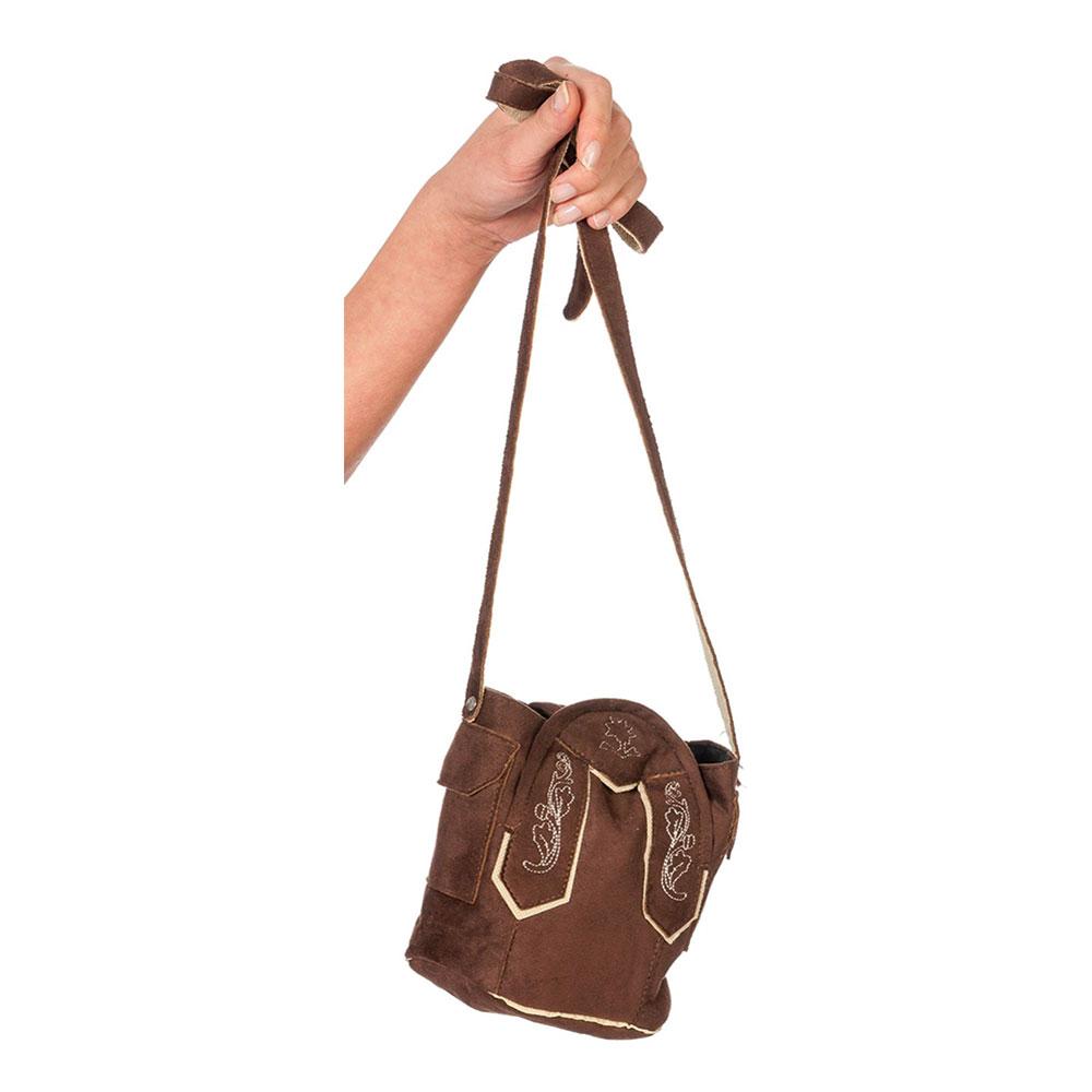 Tyroler Handväska Brun