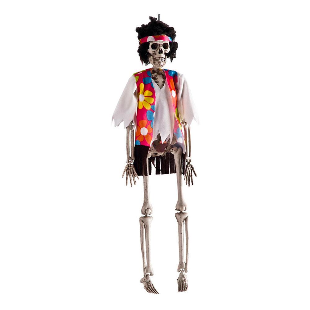 Hängande Hippie Skelett Prop
