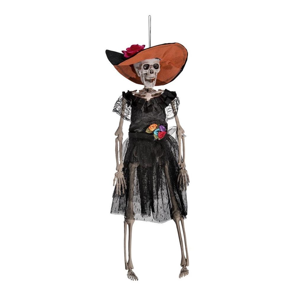 Hängande Mexikanskt Skelett Prop