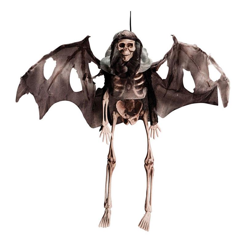 Hängande Skelett med Vingar
