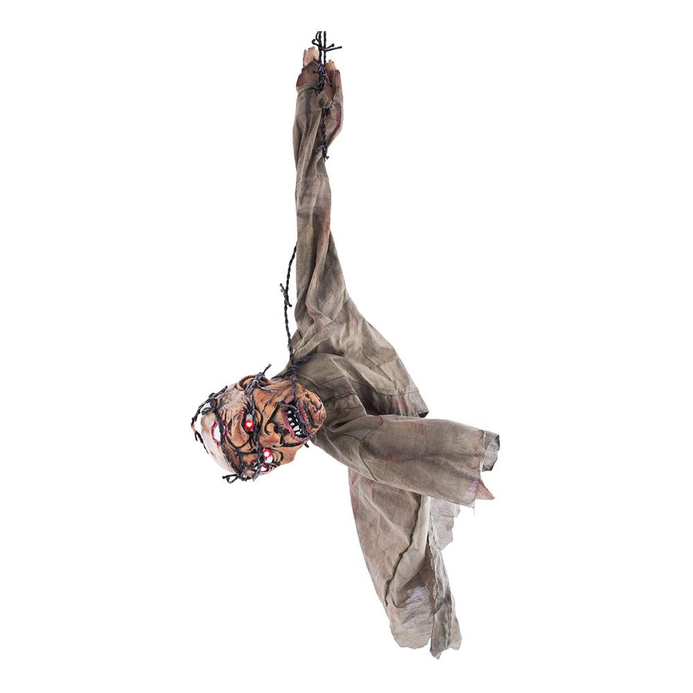 Hängande Zombie med Ljud, Ljus & Rörelse