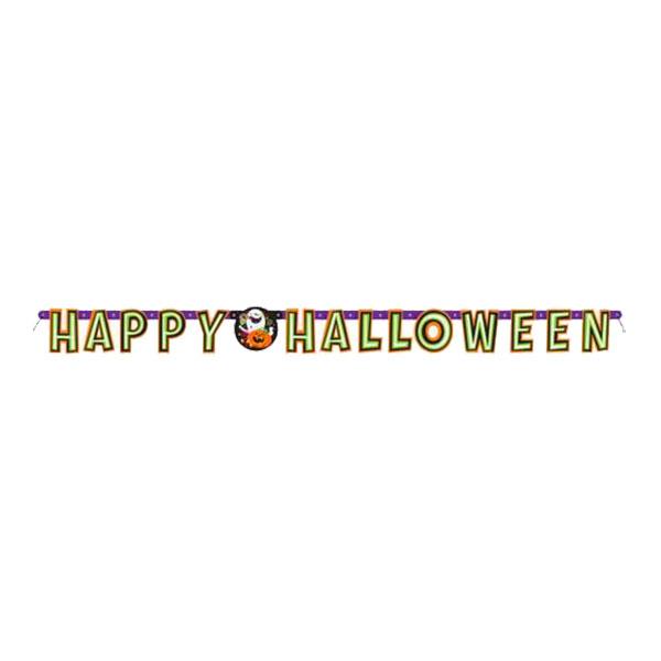 Happy Halloween Bokstavsgirlang