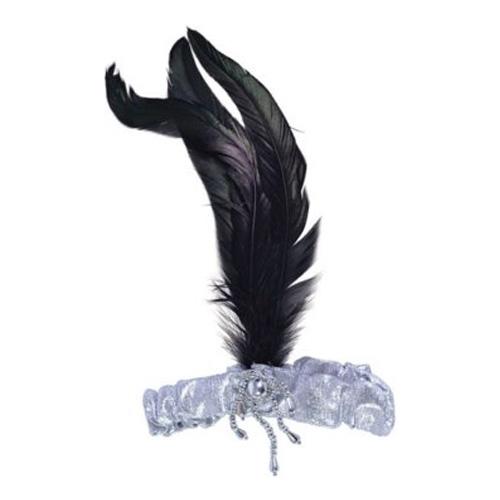 Hårband med Fjäder