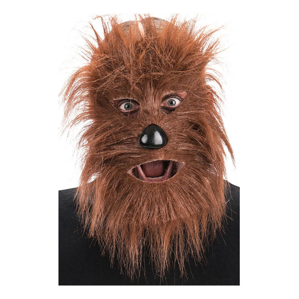 Hårig Bigfoot Mask - One size