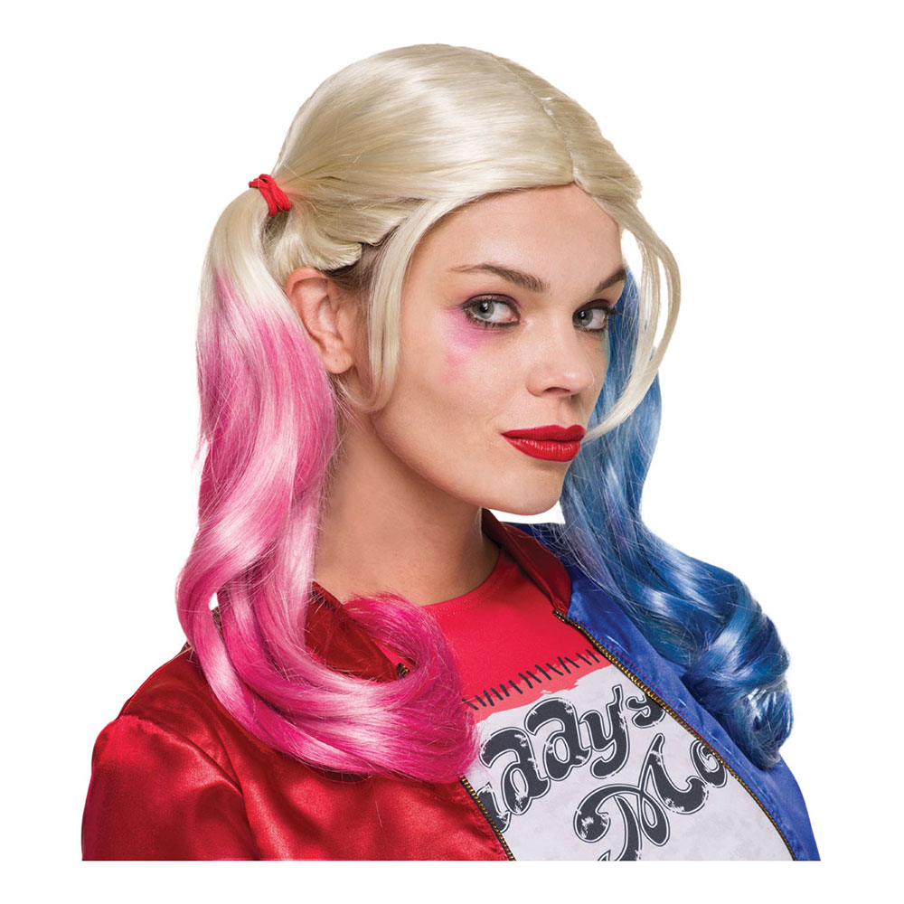 Suicide Squad Harley Quinn Peruk - One size