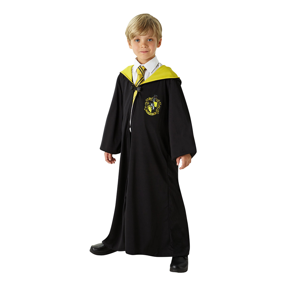 Harry Potter Hufflepuff Barn Maskeraddräkt - Small