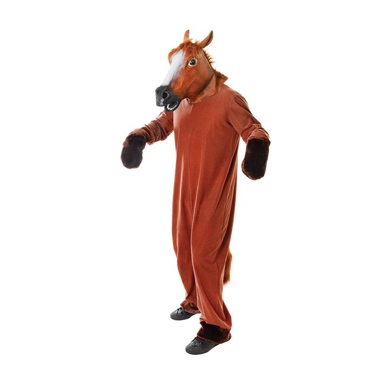 Häst Maskeraddräkt - One size