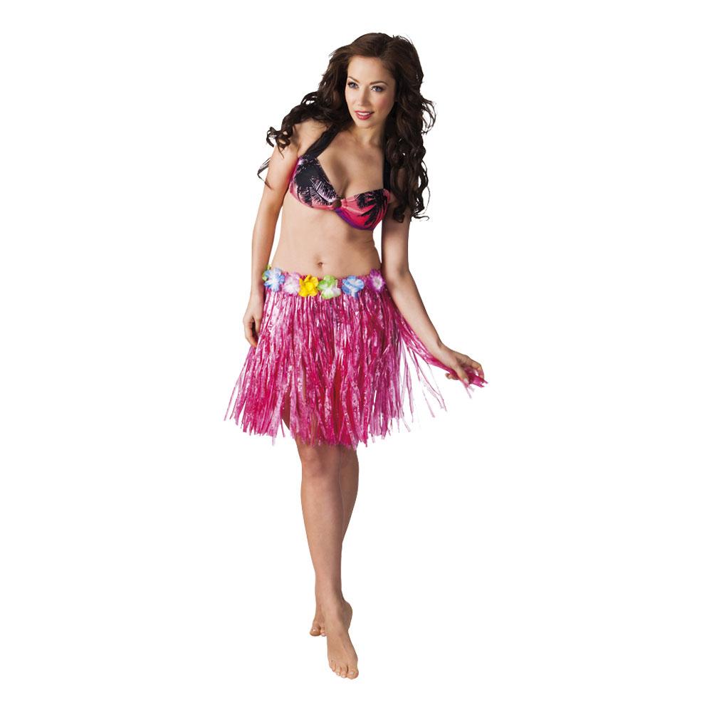 Hawaiikjol Kort Rosa - One size