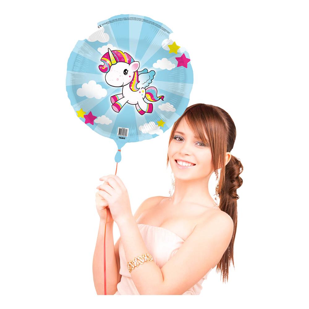 Heliumballong Enhörning