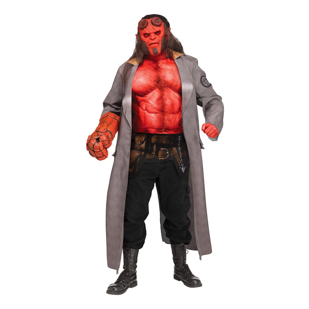 Hellboy Deluxe Maskeraddräkt - One size