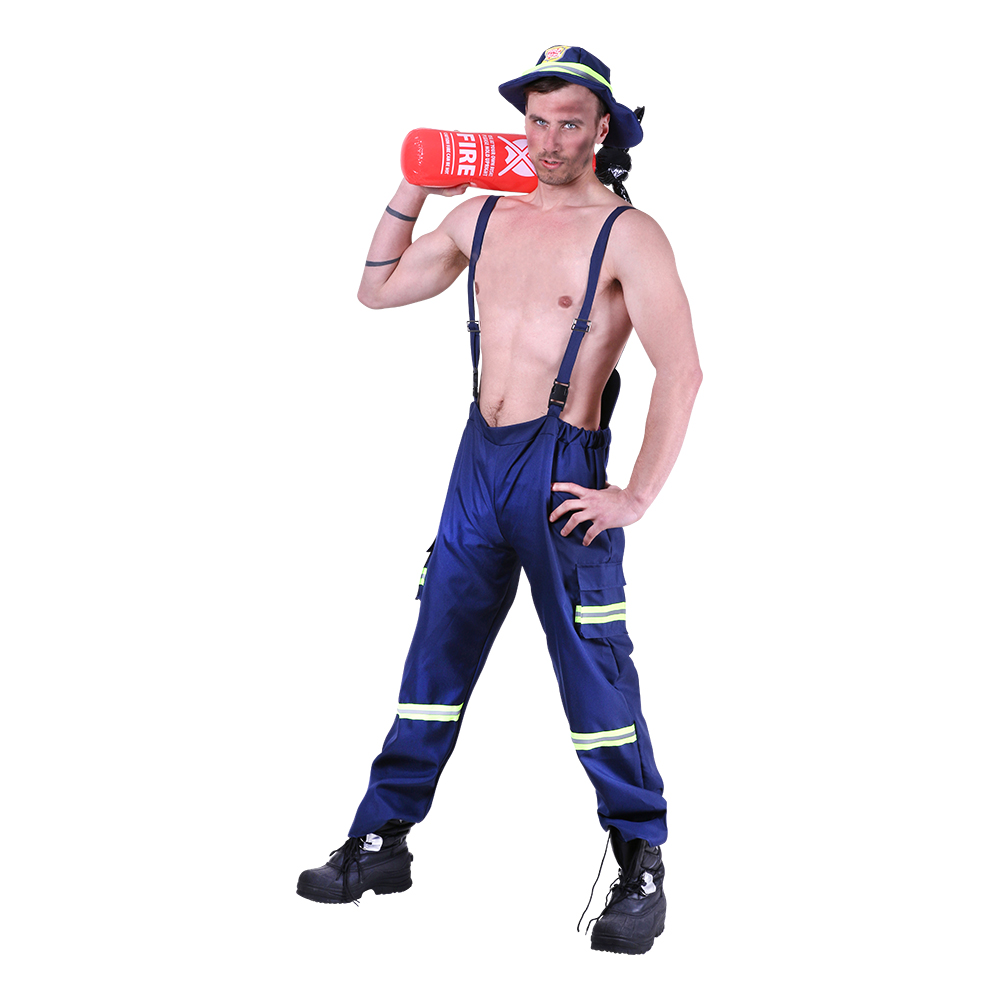 Het Brandman Maskeraddräkt - One size