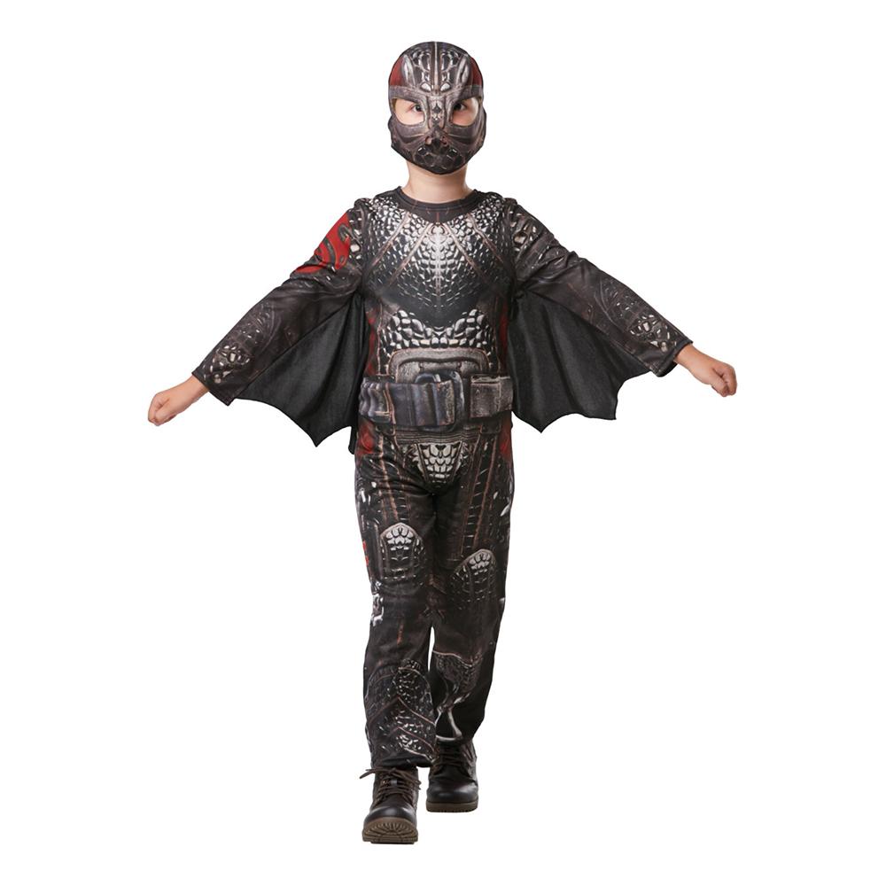 Hiccup Battlesuit Teen Maskeraddräkt - One size