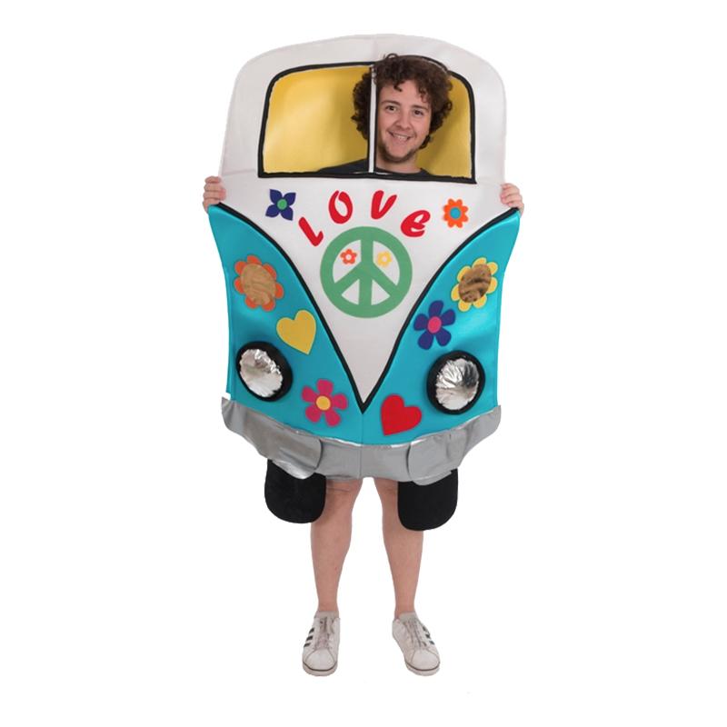 Hippie Campervan Maskeraddräkt - One size