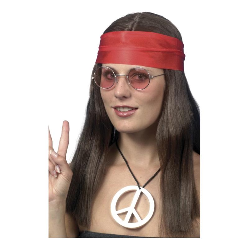 Hippie Kvinna Tillbehörskit