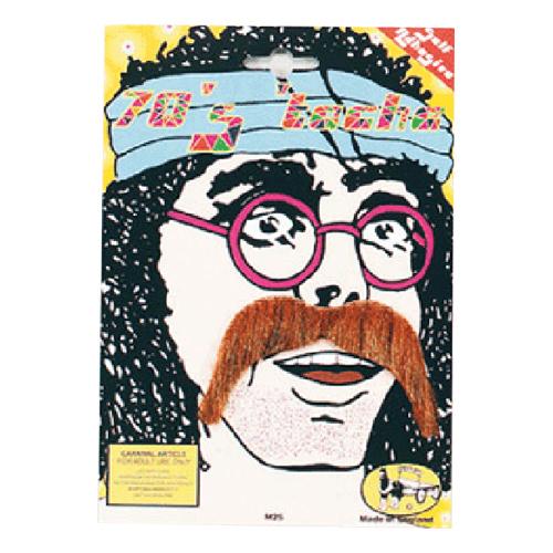 Hippie Mustasch - Brun