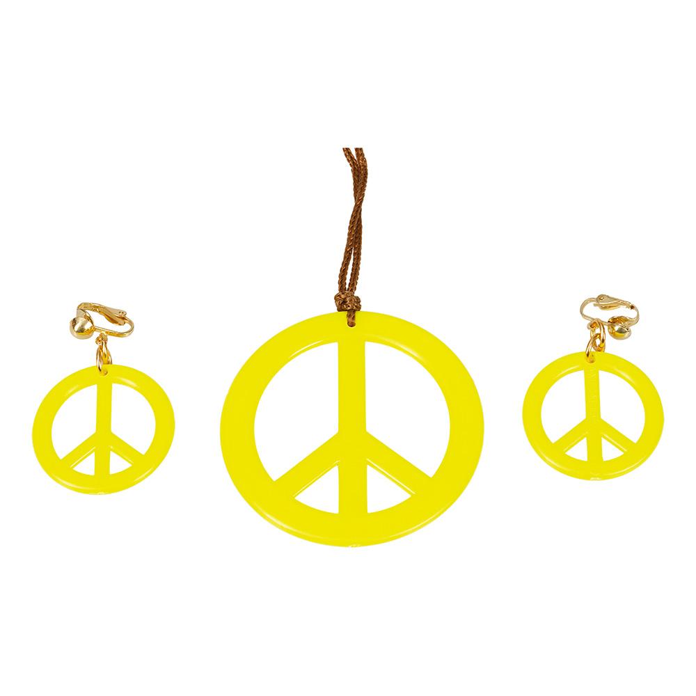 Hippie Smyckesset Gul