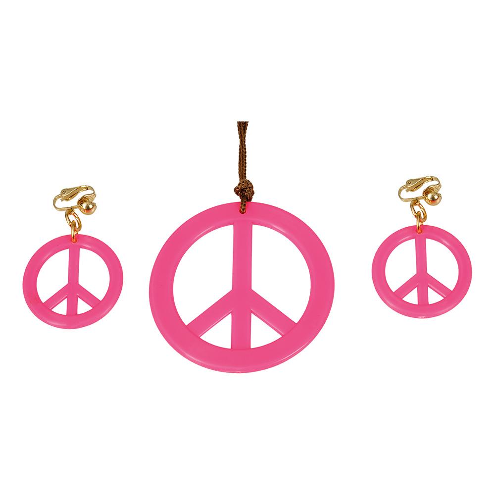 Hippie Smyckesset Rosa