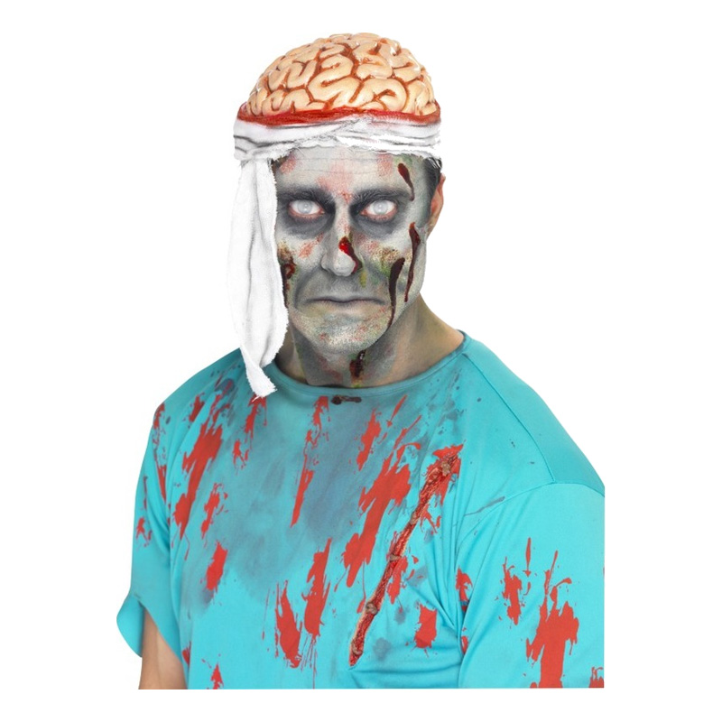 Hjärnmössa med bandage - One size
