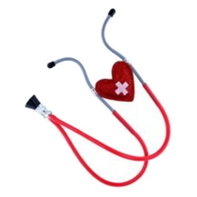 Hjärtformat Stetoskop