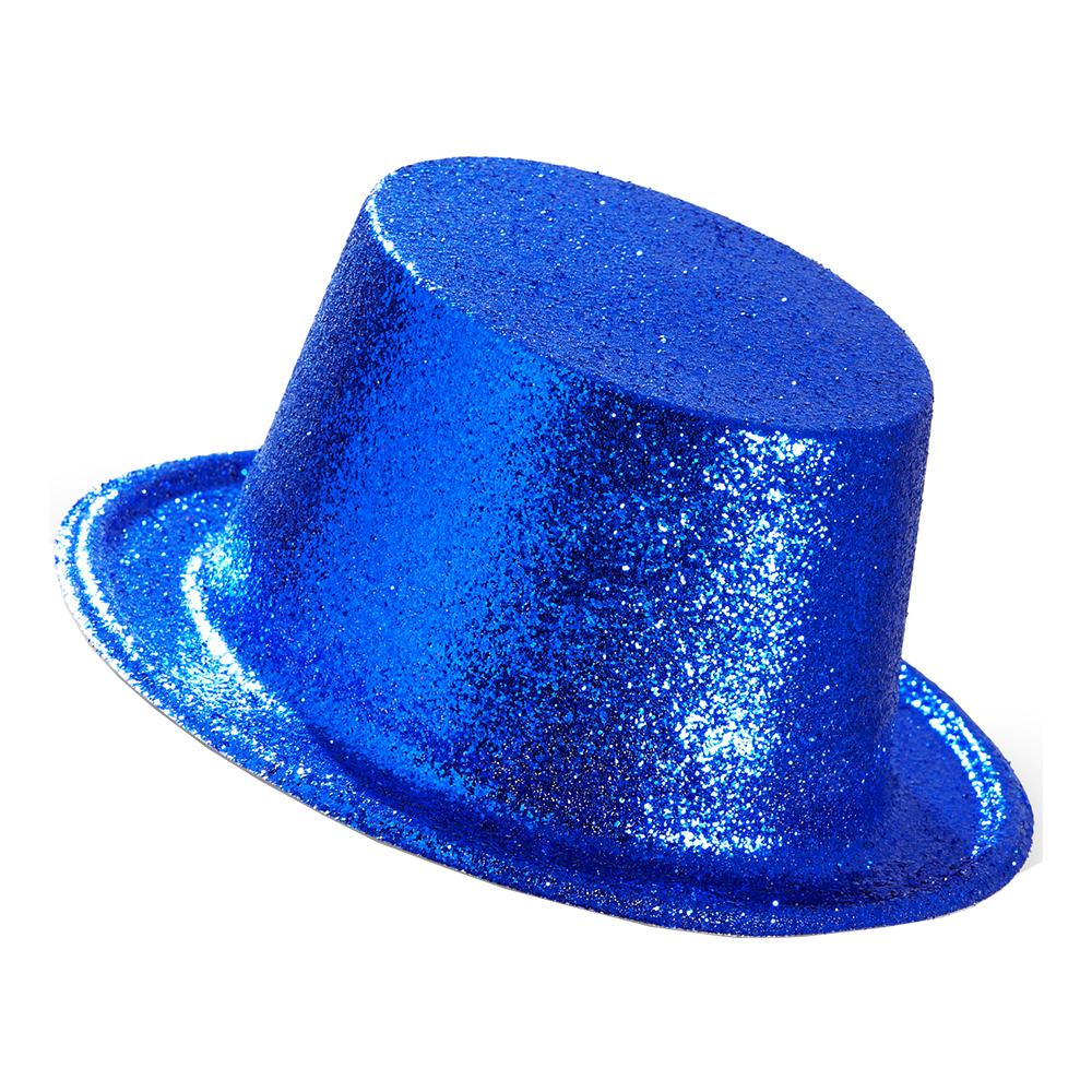Höghatt Glitter Blå - One size