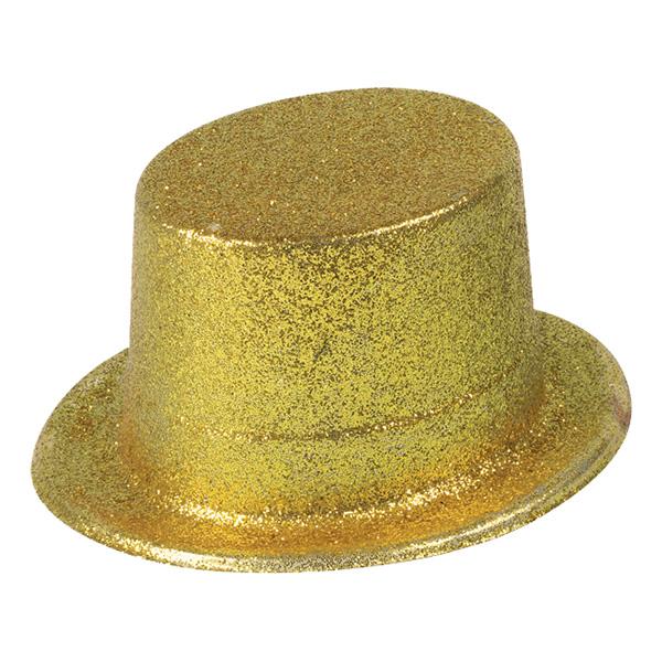 Höghatt Glitter Guld - One size