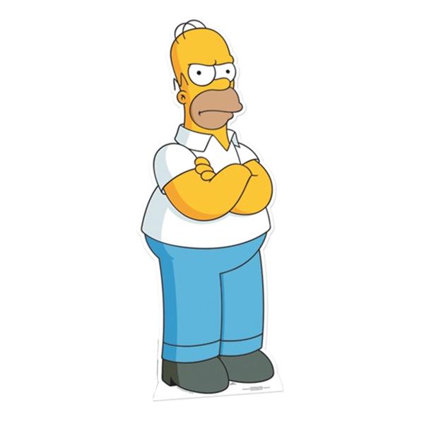 Homer Simpson Kartongfigur