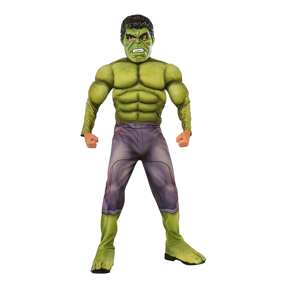 Hulken med Muskler Barn Maskeraddräkt - Small