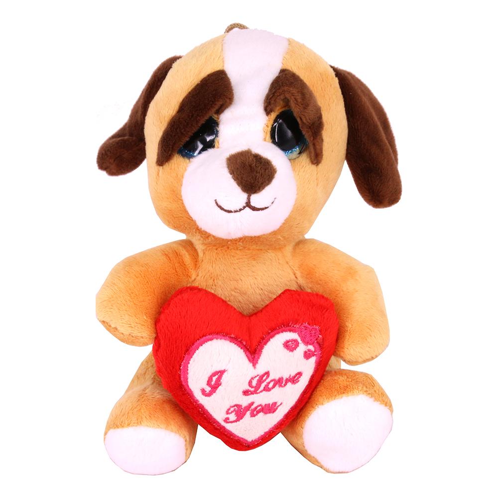 Hund med Hjärta Mjukisdjur