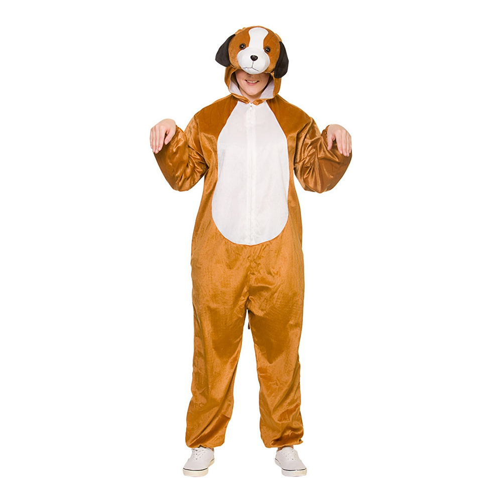 Hundvalp Jumpsuit Maskeraddräkt - One size