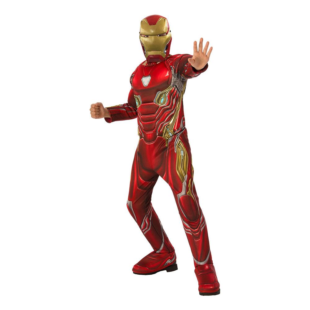 Iron Man Deluxe Infinity War Barn Maskeraddräkt - Small