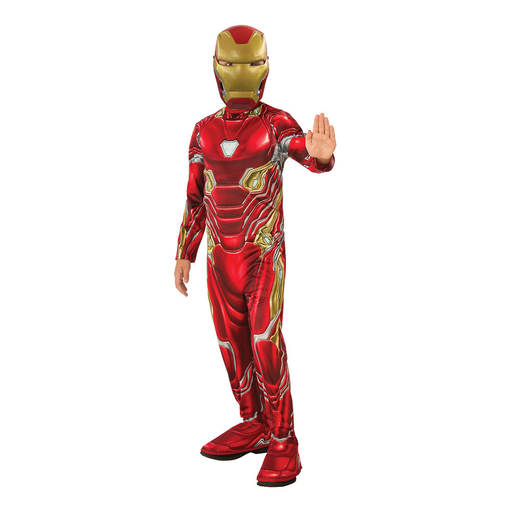 Iron Man Infinity War Barn Maskeraddräkt - Small
