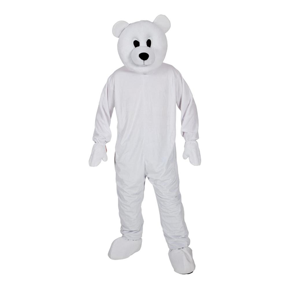 Isbjörnsmaskot Maskeraddräkt - One size