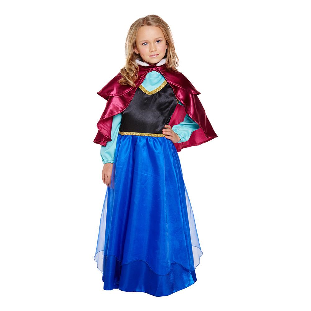 Isprinsessa Barn Budget Maskeraddräkt - Small