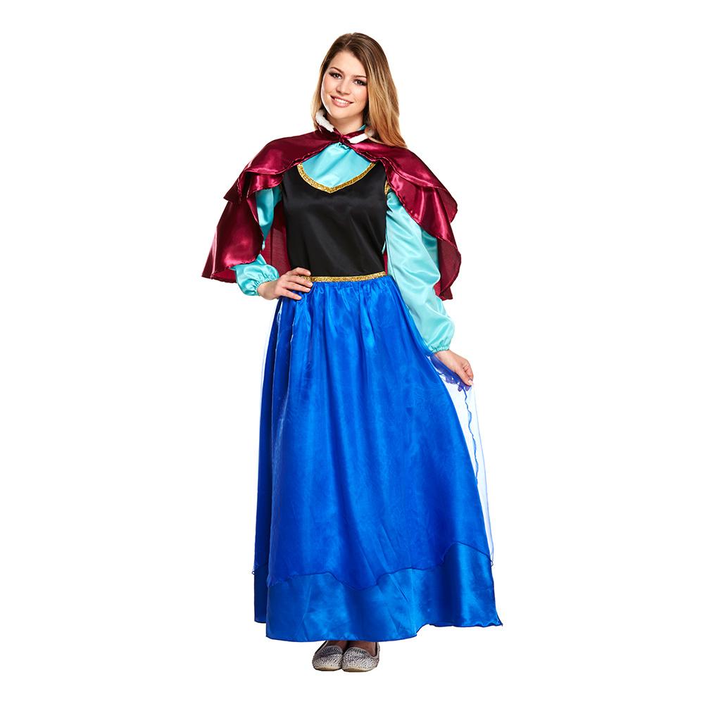 Isprinsessa Budget Maskeraddräkt - One size