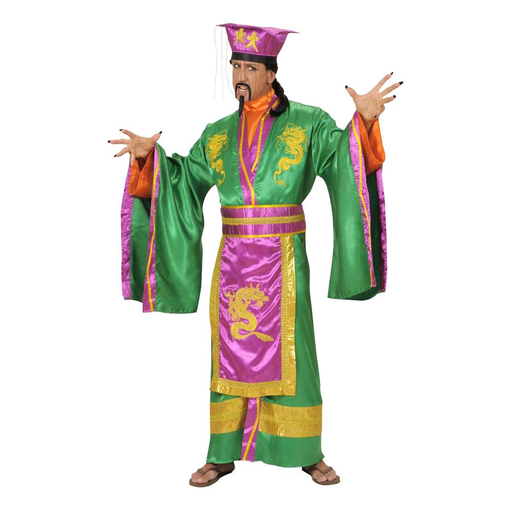 Japansk Kejsare Maskeraddräkt - Medium