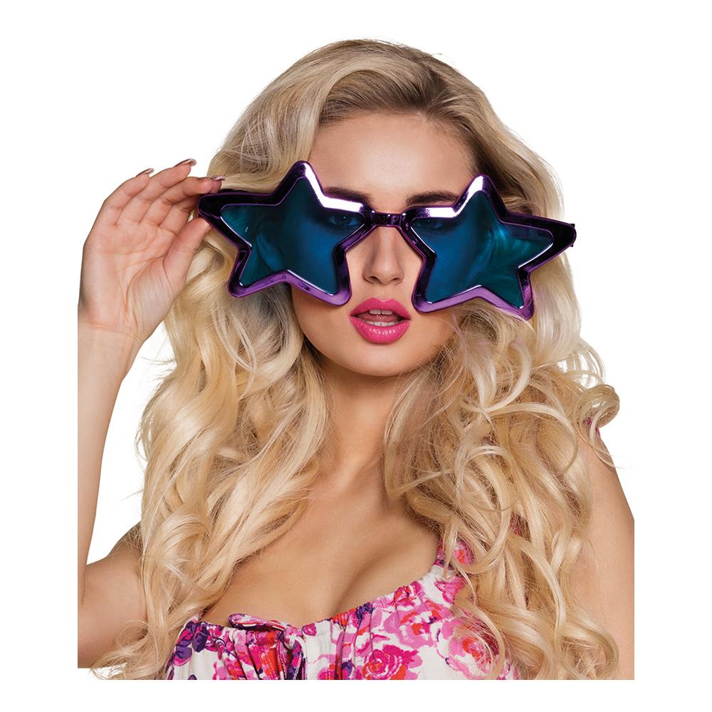 Jätteglasögon Stjärnor