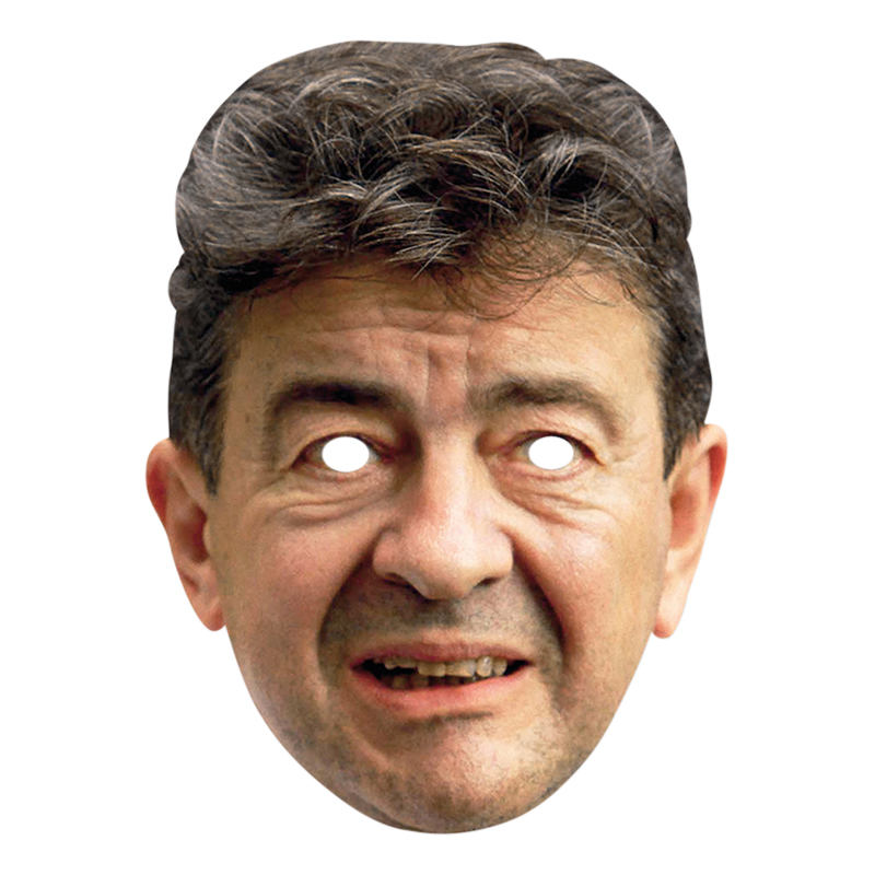 Jean Luc Melenchon Pappmask