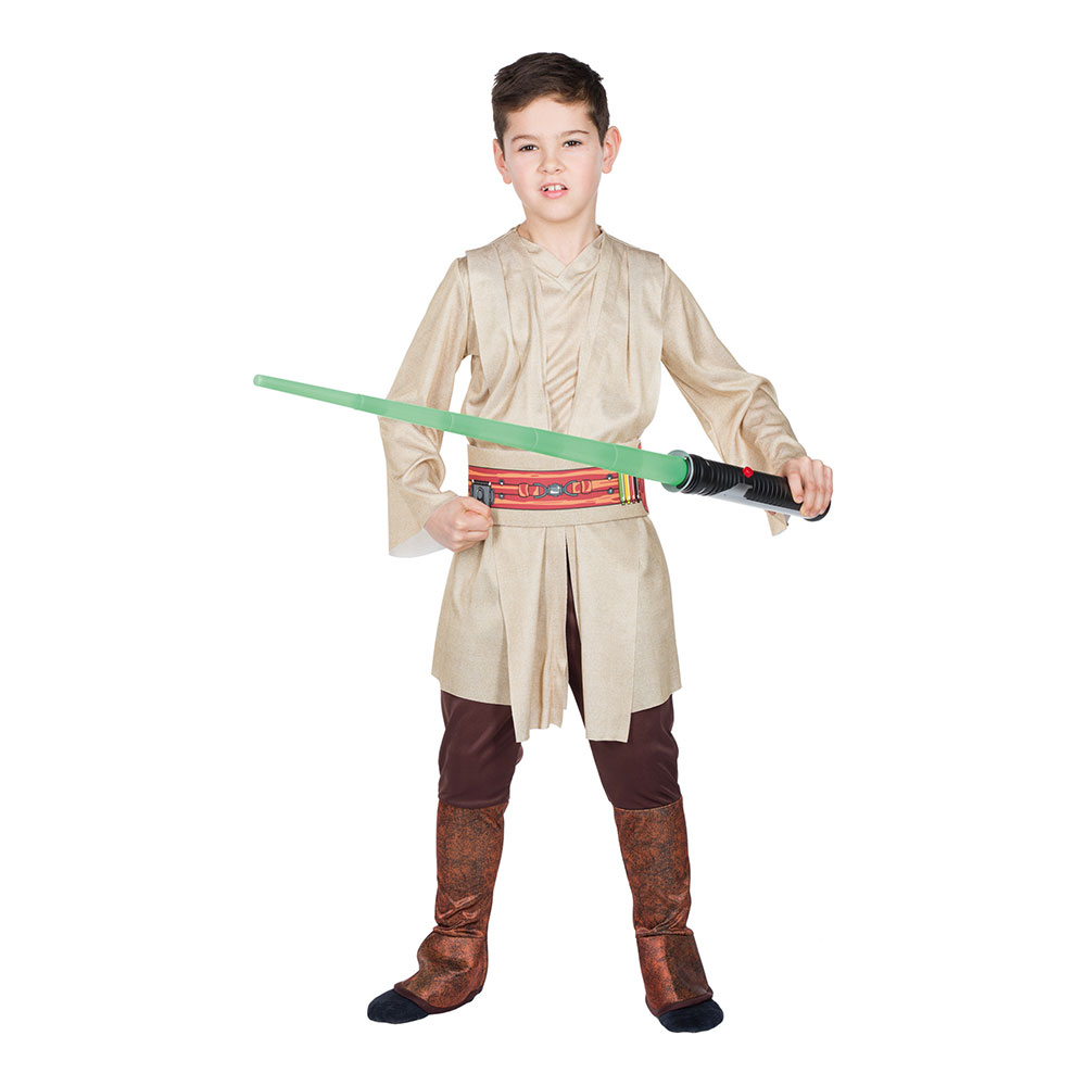 Jedi Knight Deluxe Barn Maskeraddräkt - Medium